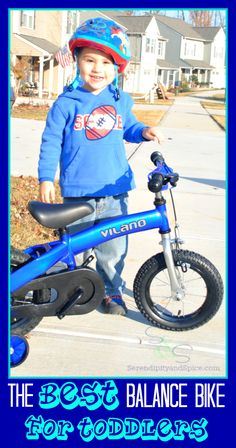 The BEST Balance Bike for Toddlers.....and it's less than $70!  See why this is THE bike to get this Christmas!