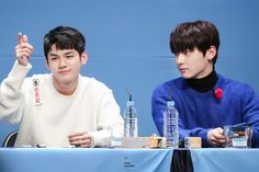 180111 Wanna One at Yohi Fansign Ong Seongwoo, Ha Sungwoon, 3 In One, Jinyoung, Music Awards, Perfect Match, Seoul, Drama, Lord