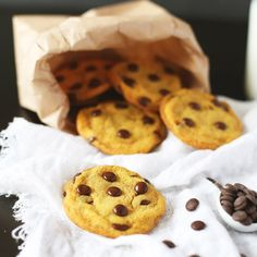 A Small Pinch of Salt - Chocolate chip cookies