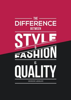 """ The Difference Between Style  Fashion Quality "" #Fashion# #Style#"