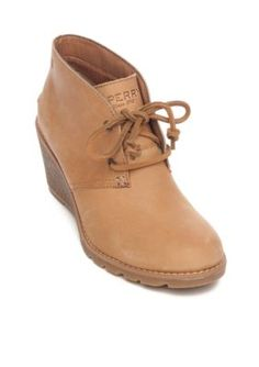 6c3e82ebcba0 Sperry Women s Celeste Prow Tan Wedge - Tan - 10M