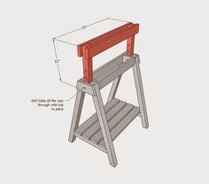 Φτιάξτε ξύλινο καβαλέτο με ρυθμιζόμενο ύψος ~ SuperEverything