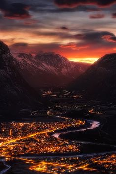 Valley Of Light | Norway by Haakon Nygaard | denlArt