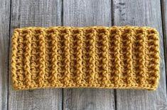 Autumn Ridges Ear Warmer - Free Crochet Pattern from Avery Lane Creations Crochet Ear Warmer Pattern, Crochet Headband Pattern, Crochet Headbands, Double Crochet Decrease, Front Post Double Crochet, Easy Crochet Projects, Easy Crochet Patterns, Knitting Patterns, Stitch Ears