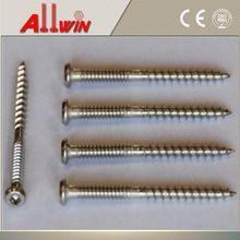 3 x #9 305 flat head Stainless Steel Composite Deck Screws
