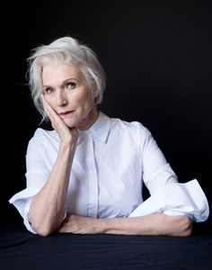 """You have to change - you have to always be updated,"" 68-year-old Maye Musk (dietitian, nutritionist, mom of Elon Musk) has also been modeling for decades."