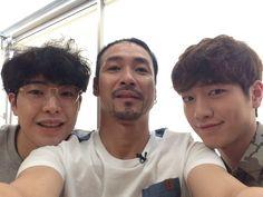Park Min-woo, Shin Sung-woo, and Seo Kang-joon