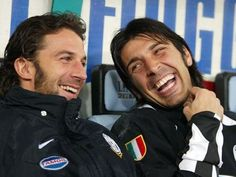 DelPiero&Buffon #Juventus