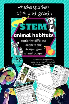 Engage and Excite young learners with this hands on UNIT of Science WORK  This Animal Habitats unit of work looks at the different animals in three habitats. Forest/Jungle, Ocean and Desert. Students will be led through researching the habitats and using craft to create an animal from each habitat before working in collaborative groups to build a model habitat and animal puppets. Students will demonstrate their learning through a play at the end of the unit. This is a very hands on unit and…