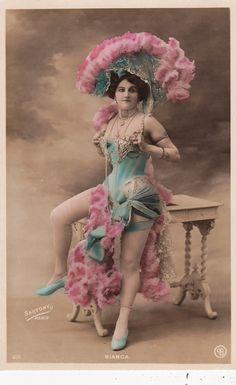 "Lovely Edwardian ""Bianca"" by Sartony of Paris Original French Postcard | eBay"