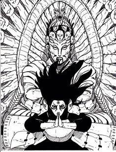 """Naruto🍥: Hokage Hashirama Senju - """"God of Shinobi"""" Tatoo Naruto, Art Naruto, Naruto Sketch, Naruto Drawings, Anime Drawings Sketches, Wallpaper Naruto Shippuden, Naruto Shippuden Sasuke, Naruto Wallpaper, Art Manga"""