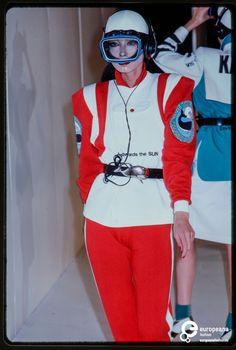 6f5edc8c630b Fashion show Kansai Yamamoto spring   summer 1980 Kansai Yamamoto