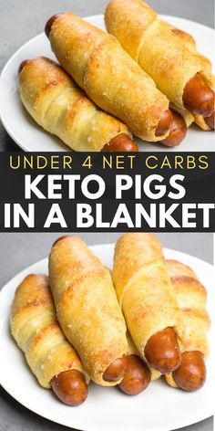 Easy Keto Pigs in a Blanket are the perfect low carb kid friendly dinner under 4 net carbs each! These gluten free low carb pigs in a blanket are such a great quick and easy dinner! Also great for meal prep! Healthy Low Carb Recipes, Low Carb Dinner Recipes, Low Carb Desserts, Keto Dinner, Best Low Carb Meals, Health Recipes, Carb Free Foods, Low Carb Easy Dinners, Low Carb Snack Ideas