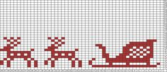 Tricksy Knitter Charts: reindeer and sled by Jessy