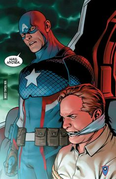 Steve Rogers is secretly working for HYDRA! (Captain America: Steve Rogers #1, 2016)