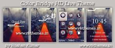 Color Bridge Live HD Theme For Nokia X2-00, X2-02, X2-05, X3-00, C2-01, 206, 208, 301, 2700 & 240×320 Devices ~ Rkthemes | Download Free Themes For Nokia and Android Phones