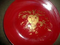 Endangered Species Art Fading Lion and Cub Painted by missy69