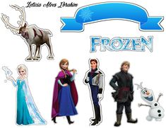 Frozen Cupcake Toppers, Frozen Cupcakes, Frozen Cake Topper, Birthday Cake Toppers, Bolo Frozen, Elsa Frozen, Frozen Themed Birthday Party, Frozen Party, Frozen Photo Booth