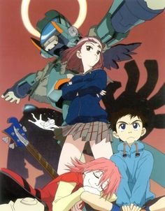Given how epic and Awesome Tengen Teppa Gurren Lagann was, we were all bound to discover more anime that are as great as it. That's why here they are- all the Anime like Gurren Lagann to conquer! Manga Anime, Old Anime, Flcl Manga, Animation, Furi Kuri, Canti, Susanoo, Anime Kunst, Gurren Lagann