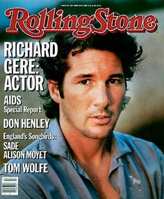 Leading Men on the Cover of Rolling Stone Pictures - Richard Gere   Rolling Stone