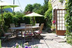 Jardin de la Maison d'hôtes à vendre à Saint Agnan en Vercors dans la Drôme