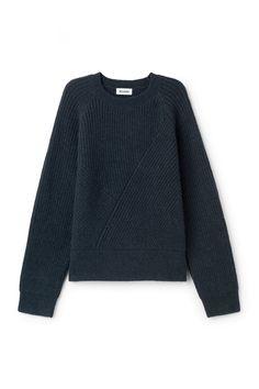 Weekday image 10 of Delina Sweater in Blue Greenish Dark