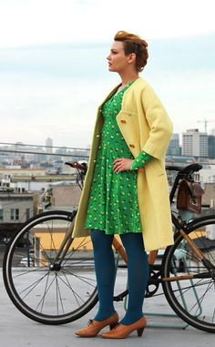 Bike Chic Outfit Ideas: Easter Sunday   Bike Pretty