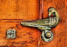 Rustic Bird Door Handle