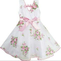 Vestidos floreados de niña 6