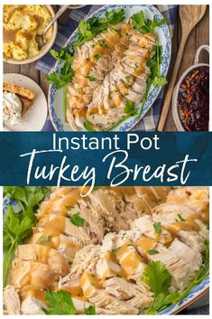 Instant Pot Turkey Breast is a great and EASY way to cook your Thanksgiving Turkey! You can cook this pressure cooker turkey breast recipe in under 1 hour & be ready for Thanksgiving! Cooking Turkey Breast in an instant pot takes is just so easy! Pressure Cooker Turkey Breast Recipe, Instant Pot Turkey Breast Recipe, Best Instant Pot Recipe, Pressure Cooker Recipes, Slow Cooker, Pressure Cooking, Easy Cooking, Cooking Recipes, Healthy Recipes