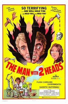 THE MAN WITH 2 HEADS (1972)
