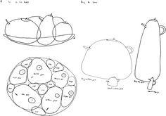 sejima & nishizawa - Sketch for the Serie: Tea and Coffee Towers, 2003 Foto: Archivio Alessi