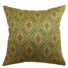 Heihe Buddha Paisley Down Filled Throw Pillow | Overstock.com Shopping - Great Deals on PILLOW COLLECTION INC Throw Pillows
