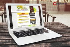 Wealth Attraction Code Squeeze Page, Page Design, Wealth, Attraction, Coding, Awesome, Programming