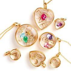 Loquet London personalized lockets on Moda Operandi (hello, Valentine!)
