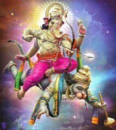 No photo description available. Jai Ganesh, Ganesh Lord, Ganesha Art, Shri Ganesh Images, Hanuman Images, Saraswati Goddess, Shiva Shakti, Kali Goddess, Shree Ram Images