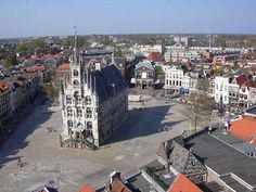 Charming city of Gouda, Netherlands. Every week there's a market. I was lucky to be there on comic book market.