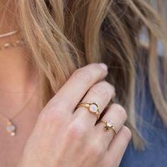Todos Moonstone Ring