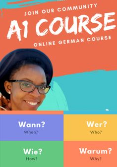 We offer complete German *live* course packages for all levels: The courses packages contain: weeks of German Lessons 2 x week live lessons learning material community group chat personal member area with exercises 20 Weeks, Lessons Learned, Kids Learning, Online Courses, Activities For Kids, Digital Marketing, Exercises, German, How To Remove