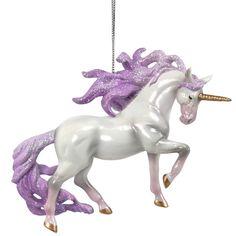 Unicorn Sparkle Shine Be Kind CUSTOM Porcelain Ornament Gift Unicorns Rainbow