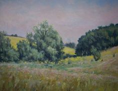 Oil Paintings, Landscape Paintings, May Days, Canvas Size, Light Colors, The Originals, Artwork, Work Of Art, Bright Colors