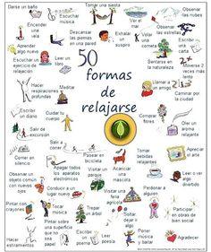 formas de relajarse