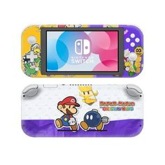 Paper Mario origami king Nintendo switch lite Skin | switch lite skin | Console skins world