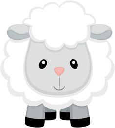Borrego Farm Animal Party, Barnyard Party, Farm Party, Baby Sheep, Cute Sheep, Eid Crafts, Crafts For Kids, Eid Stickers, Baby Lamb