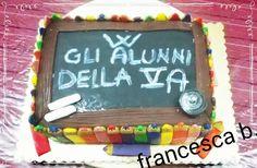 Cake fine anno scolastico