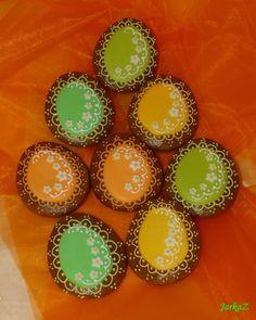 Easter gingerbread - eggs - veľkonočné medovníčky - vajíčka