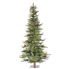 Shop for Vickerman Green Plastic Ashland Unlit Artificial Christmas Tree. Get free delivery On EVERYTHING* Overstock - Your Online Christmas Store! Get in rewards with Club O! Pine Cone Christmas Tree, Christmas Greenery, Farmhouse Christmas Decor, Christmas Decorations, Realistic Christmas Trees, Holiday Decorating, Christmas Themes, Farmhouse Decor, Christmas Store