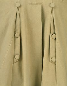1810, United Kingdom - Greatcoat - Wool, lined with linen, hand-stitched