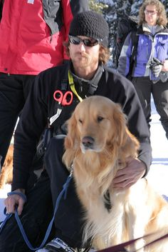 Sean McAllister and Sherman. On Tuesday February 5th Alpine Meadows hosted a full day of search and rescue training