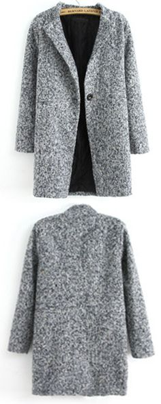 Grey coats is very casual in winter but it can make you fashion. You will be the popular star in winter. 35% Off  for 1st Sign Up